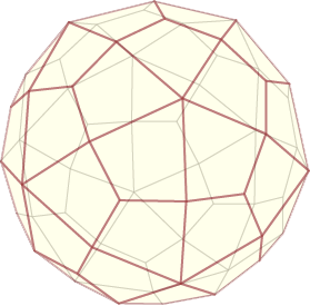 Thinking about the next lamp: a deltoidal hexecontahedron