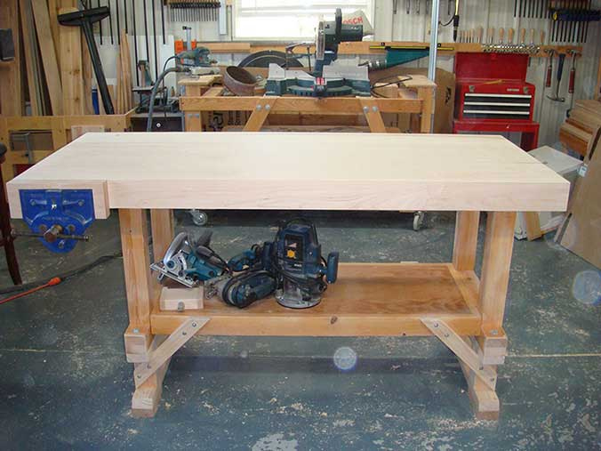 Woodworking Bench Top Design